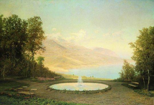 Эриклик. Фонтан (Крым). 1872