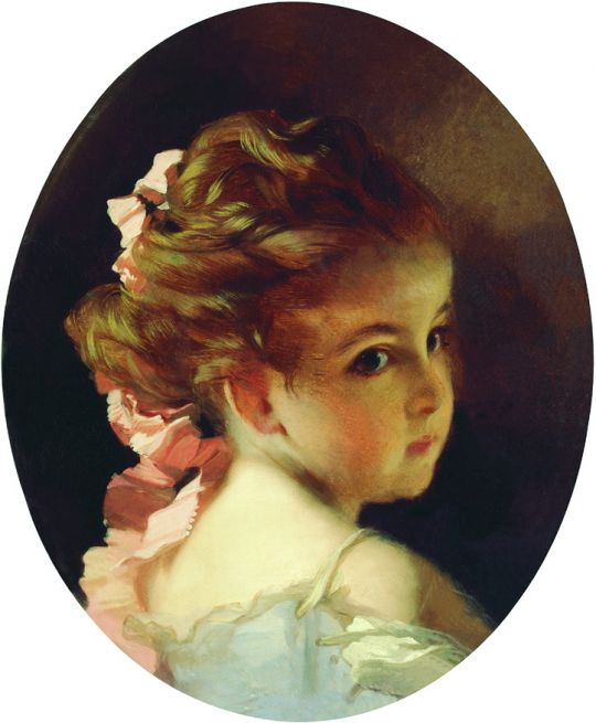 Головка девочки. 1890-е