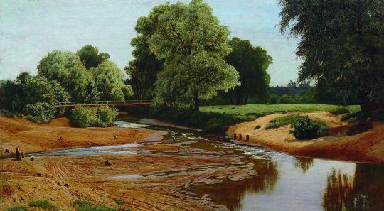 Летний пейзаж. 1877