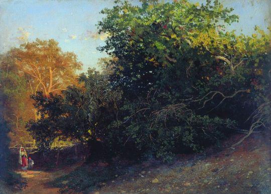 Лес у моря. Крым. 1879