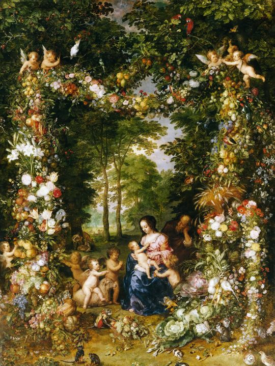 Святое семейство (ок.1623) (Мюнхен, Старая пинакотека)