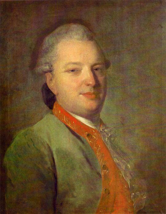 Портрет В.И. Майкова. Между 1775 и 1778