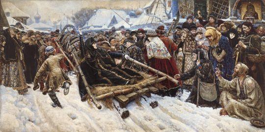 «Боярыня Морозова», В.Суриков