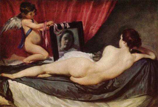 «Венера с зеркалом», Диего Веласкес, ок. 1644-1648, Лондонская Национальная галерея