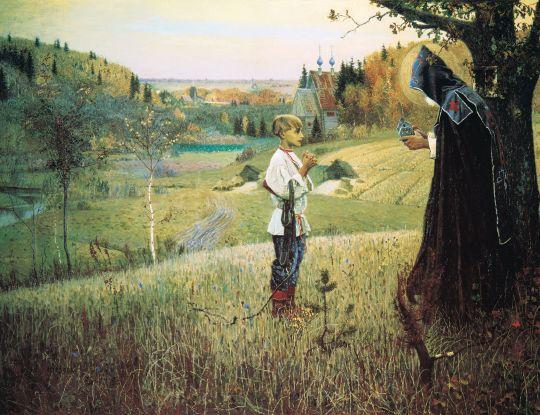 «Видение отроку Варфоломею», М.Нестеров