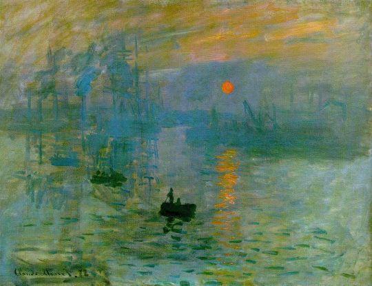 «Впечатление. Восход солнца», Клод Моне, 1872