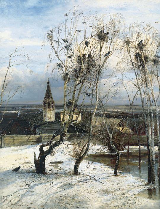 «Грачи прилетели», Алексей Саврасов, 1871