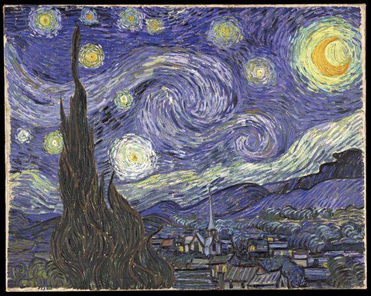 «Звёздная ночь», Ван Гог