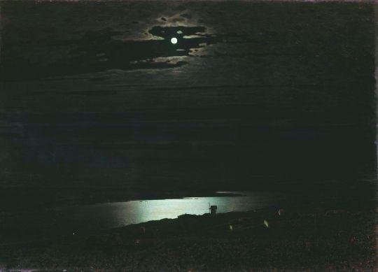 «Лунная ночь на Днепре», А.Куинджи