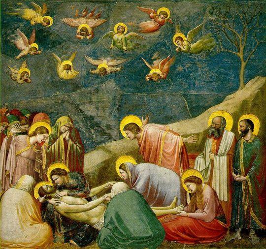 «Оплакивание Христа», Джотто, 1304-1313