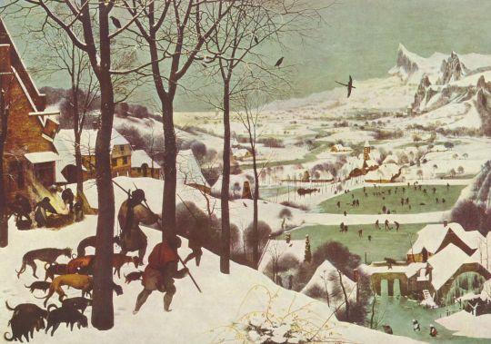 «Охотники на снегу», Брейгель