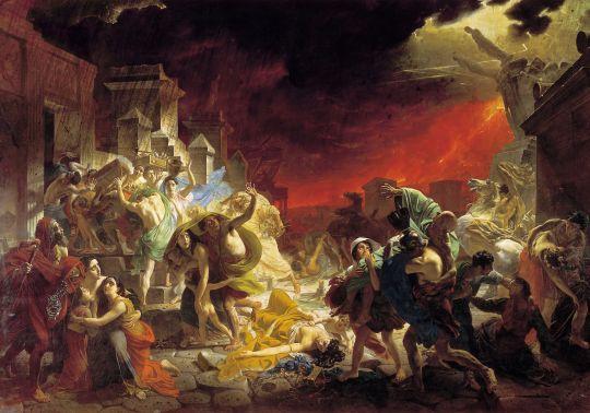 «Последний день Помпеи», К.Брюллов