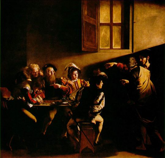 «Призвание апостола Матфея», Караваджо