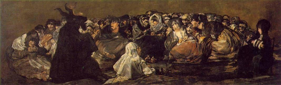 Купить копию картины Шабаш ведьм отличного качества с доставкой по ...