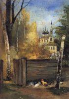 Весна. Провинциальный дворик