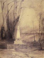 Могила А.С.Пушкина в Святогорском монастыре