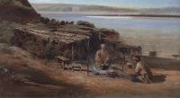 Рыбаки на Волге