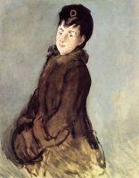 Изабель Лемонье с муфтой