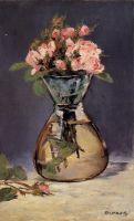 Mosee розы в вазе