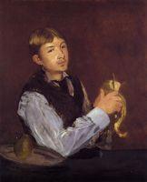 Юноша чистит грушу (также известный как Портрет Леона Леенхоффа)