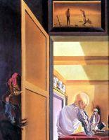 """Гала и """"Анжелюс"""" Милле, возвещающий очень скорое появление загадочной картинки конической формы"""