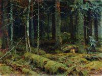 Темный лес.