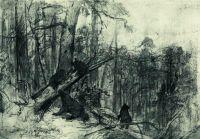 Утро в сосновом лесу. Конец2