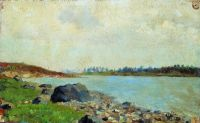 На Москве-реке.