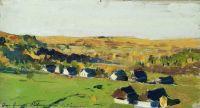 Осенний пейзаж. Деревня