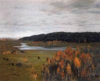 Осень. Долина реки.