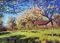 Цветущие яблони3.