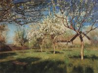 Цветущие яблони4.