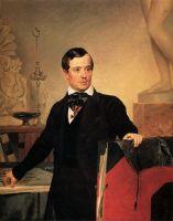 Портрет архитектора и художника А.П.Брюллова. Не позднее