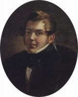 Портрет архитектора М.О.Лопыревского.