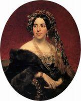 Портрет кн. З.А.Волконской. Не позднее