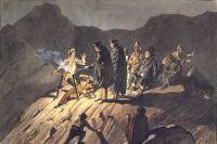 Участники экспедиции на Везувий.