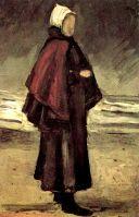 Жена рыбака на берегу