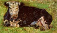 Лежащая корова