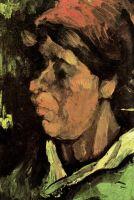 Портрет крестьянки в темном чепце