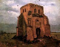 Старая церковная башня в Нюэнене (Крестьянское кладбище)
