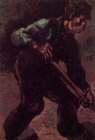 Копающая крестьянка