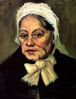 Портрет старухи в белом чепце (акушерка)