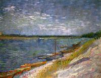 Вид реки с лодки