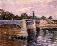 Мост де ла Гранде Жетт через Сену