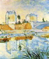 Мост де Клиши через Сену