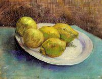Натюрморт с Лимонами на блюде