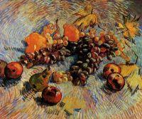 Натюрморт с Яблоками, Грушами, Лимонами и Виноградом