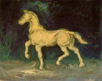 Гипсовая статуэтка лошади