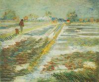 Пейзаж со снегом