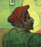 Поль Гоген (Человек в красном берете)